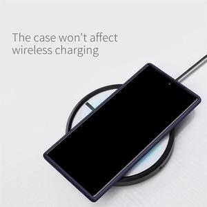 Image 5 - לסמסונג גלקסי הערה 10 10 + בתוספת Samsung Galaxy Note 10 10 + Plus Pro 5G בחזרה תמיכה אלחוטי טעינה NILLKIN להגמיש טהור מקרה רך סיליקון גומי
