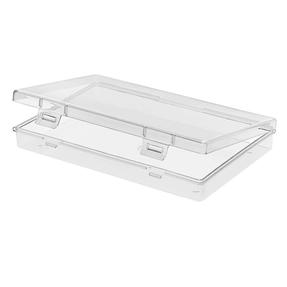 Portable Transparent Disposable Face Mask Storage Box Dustproof Case Organizer Swabs-Holder Bathroom Storage Organization Box