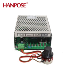 цена на Stepper motor spindle motor 110-220v power supply with speed governor for 300w dc 0-100v cnc air cooled dc motor