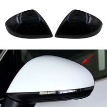 Auto Side Rearview Mirror Cover Wing Mirror Housing For VW Touareg 2011 2012 2013 2014 2015 2016 2017 2018 7P6857537 7P6857538
