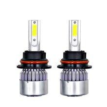 Accessories Car Headlight Tool COB Turbo Cooling Fan 3.0A 2pcs Waterproof IP65 36W DC6V-36V