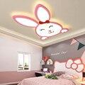 Современные светодиодные потолочные светильники с кроликом для детской комнаты принцессы для девочек  потолочный светодиодный светильник...