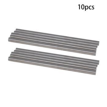 цена на 5/10pcs 4.1~5.1mm Dia HSS Round Rod Lathe Bar Stock Lathe Turning Tool 100mm Length Straight Shaft Bars Machine Boring Tool