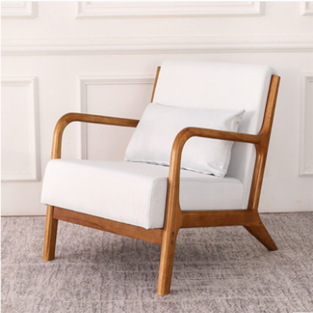 Nordic Fashion Balcony Wooden Chair  1