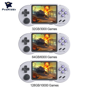 Image 2 - جيب الذهاب S30 ريترو المحمولة لعبة وحدة التحكم 3.5 بوصة IPS المدمج في 3000/6000/10000 ألعاب الفيديو قابلة للشحن جيب يده لاعب