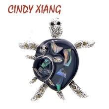 Cindy xiang Стразы маленькая Автомобильная булавка броши для