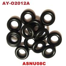 O envio gratuito de 100 peças universal injector combustível orings GB3 100 asnu08c kits reparação injector combustível 7.52*3.53mm (AY O2012A)
