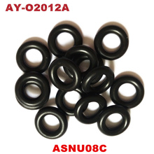 free shipping 100pieces universal  fuel injector orings GB3 100 ASNU08C fuel injector repair kits 7.52*3.53mm (AY O2012A)