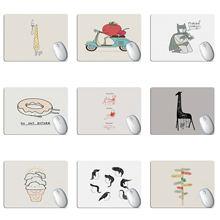 Симпатичный мультяшный коврик для мыши с изображением животных