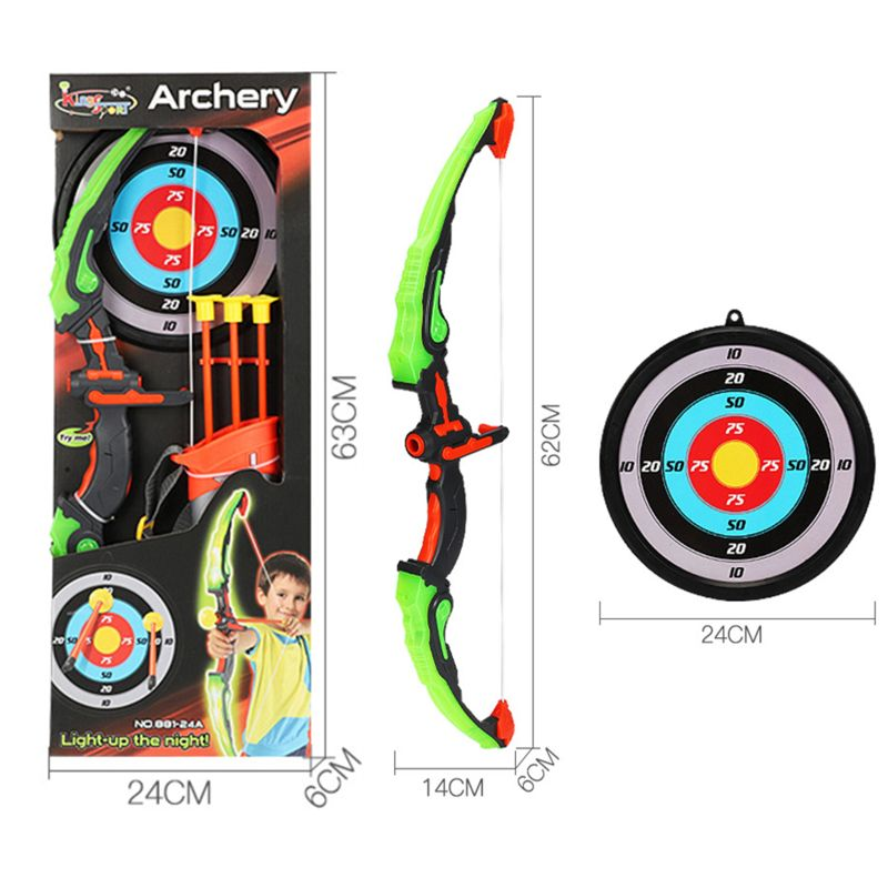 A Quiver Kids Teenage Archery Hunting Sporting Toy Wooden Bow with 3 Arrows