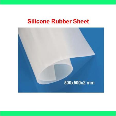 500X500X2mm, High Quality Translucent/milky white Silicone Rubber Sheet, For heat Resist Cushion,100% Virgin Silikon Rubber Pad