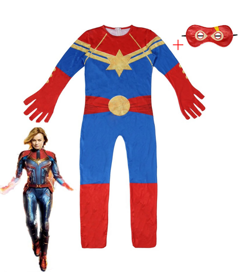 2020-new-font-b-marvel-b-font-captain-child-superhero-costume-ms-font-b-marvel-b-font-carol-danvers-girls-cosplay-costume-zentai-halloween-set-children