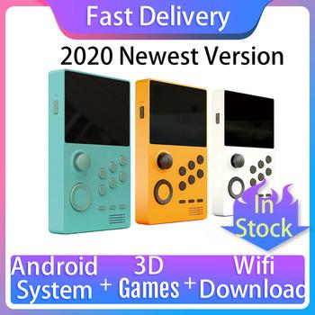2020 nowa przenośna konsola do gier ekran IPS wbudowany 3000 + gry wsparcie 3D WiFi pobierz Pandora Box Android Supretro Console tanie i dobre opinie Nemix CN (pochodzenie) A19 Pandora s Box Wi-fi 3D Handheld Game Console support