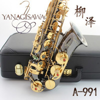 Professional Japan Yanagisawa Placed Gold Intagliar Alto Saxophone Contract Eb Sax Instruments Music Saxophone and Hard box