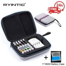 Portatile che trasporta EVA antiurto protettivo AA/AAA portabatterie scatola di immagazzinaggio custodia/organizzatore/contenitore aa aaa pila di portata