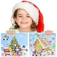 Рождественские наклейки для скрапбукинга дома с рождественской