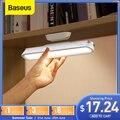 Baseus LED Schreibtisch Lampe Magnetische Tisch Lampe für Studie Schrank Licht USB Aufladbare Stufenlose Dimmen Schlafsaal Nacht lichter