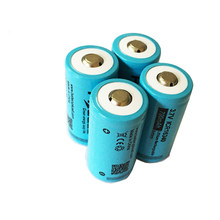PKCELL – batterie lithium-ion rechargeable, 16340 v, 3.7 mah, CR123A, ICR16340, 4 pièces, 700