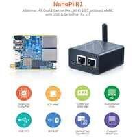 Routeur internet des objets Nanopi R1 à double écran IoT, prend en charge les sources ouvertes Ubuntu et OpenWrt livraison gratuite