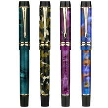 New Moonman M600S Celluloid Fountain Pen MOONMAN Iridium Fine Nib 0.5mm Excellent Fashion Office Writing Gift for Business