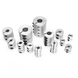Rigid coupling OD 20X25mm engraving machine motor step servo motor ball screw connecting axle 4/5/6/6.35/7/8