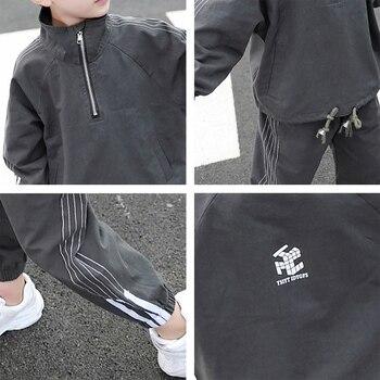 Pakian Set Anak Laki Laki Lengan dan Celana Panjang  5