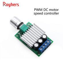 Contrôleur de vitesse de moteur PWM cc, vitesse variable en continu avec interrupteur 12v 24v 10a, contrôleur de courant continu haute puissance 1 pièces