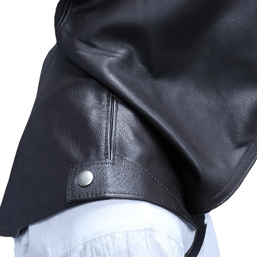 EE/_ UNISEX VINTAGE MEDIEVAL COWL HAT HOODED CLOAK CAPE COSPLAY COSTUME FANCY OPU