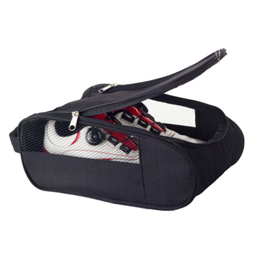 Durable House Mesh Hole Breathable Home Dust Proof Double Zippers Storage Case Sports Pouch Travel Golf Shoes Bags Waterproof|Golf Bags| |  - title=