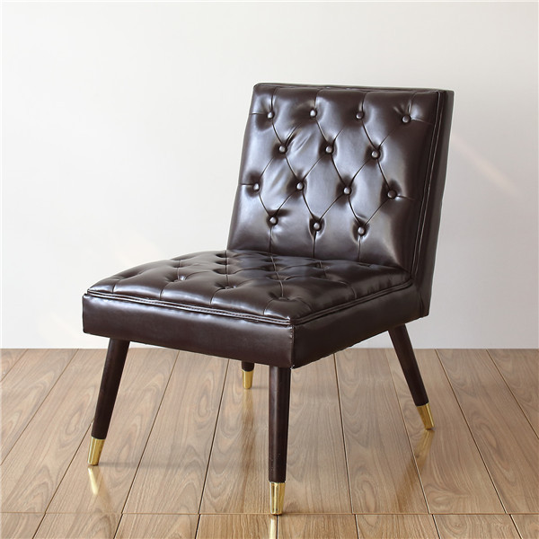 Modern Tufted Accent Chair  1