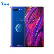 Telefon komórkowy ZTE Nubia X 6GB 64GB Snapdragon 845 octa core 6.26 + 5.1 calowy podwójny ekran 16 + 24MP kamera 3800mAh odcisk palca P