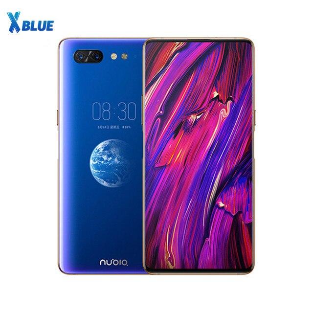 Zte Nubia X Mobiele Telefoon 6 Gb 64 Gb Snapdragon 845 Octa Core 6.26 + 5.1 Inch Dual Screen 16 + 24 Mp Camera 3800 Mah Vingerafdruk P