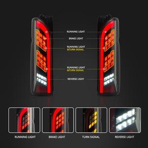 Image 3 - Led achterlicht Voor Montage Voor Toyota Hiace 2005   2018 Led achterlicht Reverse Light Sequential Knipperlichten rear Fog