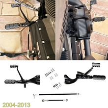 Pegs 883 Forward Controls Harley Sportster 2004-2009 1200 Black XL Linkages Levers Iron