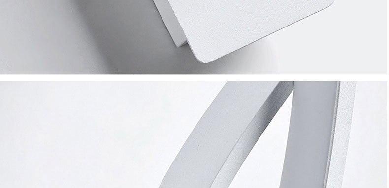 Lâmpadas de parede moderna e minimalista sala