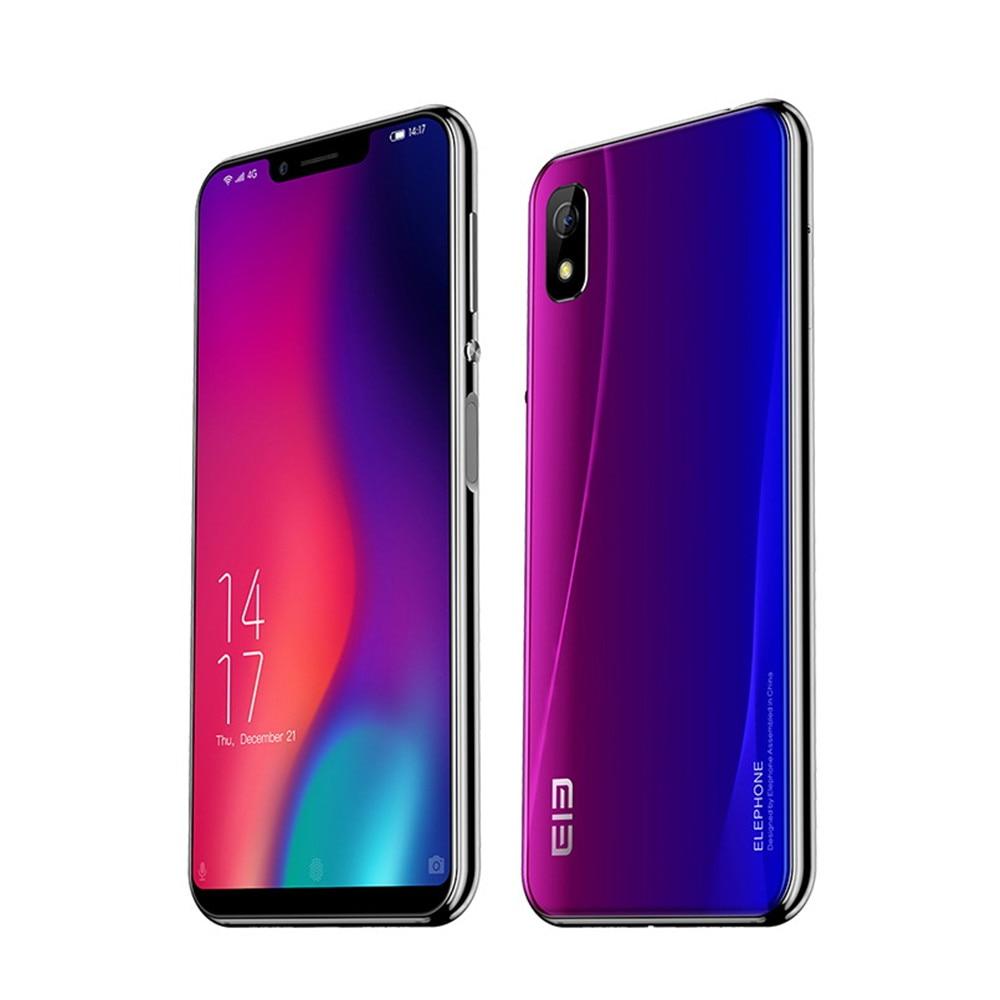 Original New Elephone A4 Pro 4GB 64GB Smartphone 4G LTE Android 8.1 MTK6763 Octa Core Mobile Phone 16MP Fingerprint Cellphone