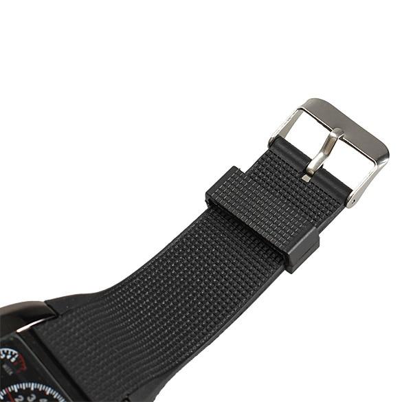 band digital Men Military LED Backlight Digital Quartz Wristwatch Sports Watch Rubber Band Adjustable Brightness C44 (1)