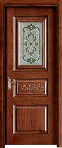 Doors Solid Interior-Door-Available Custom with Stain HA-005 Oak Contemporary Traditional