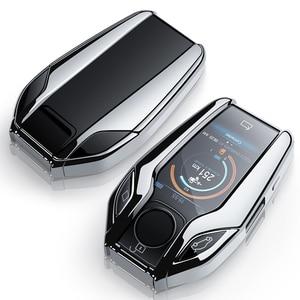 Image 5 - คุณภาพสูงTPUฝาครอบกรณีเปลือกป้องกันสำหรับBMW 7 Series 740 6 Series GT 5 series 530i X3 จอแสดงผลKEY