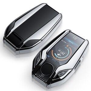Image 5 - TPU высокого качества чехол для ключа, чехол для ключа, защитный чехол для BMW 7 серии 740 6 серии GT 5 серии 530i X3, клавиша дисплея