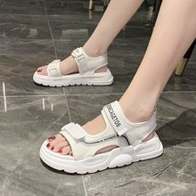 2020 new summer dad sports sandals all-match fashion female sandals muffin thick bottom increased casual sandals Z1011 sandals female 2020 summer new fashion wild sports casual sandals increased thick bottom muffin sandals z922