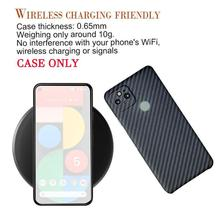 1PC Thin Aramid Carbon Fiber Phone Case Protector Shell Drop proof Dust proof Phone Back Cover Pixel 5 For Google Y3J6
