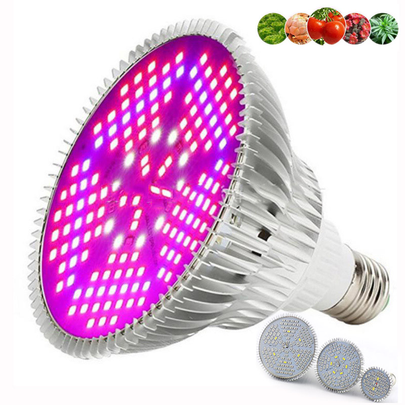 120 150 LED Plant Grow Light Hydro Phyto Lamp Bulb Indoor Flower Greenhouse Full Spectrum Seeding Growth Lamp E27 Growbox Room