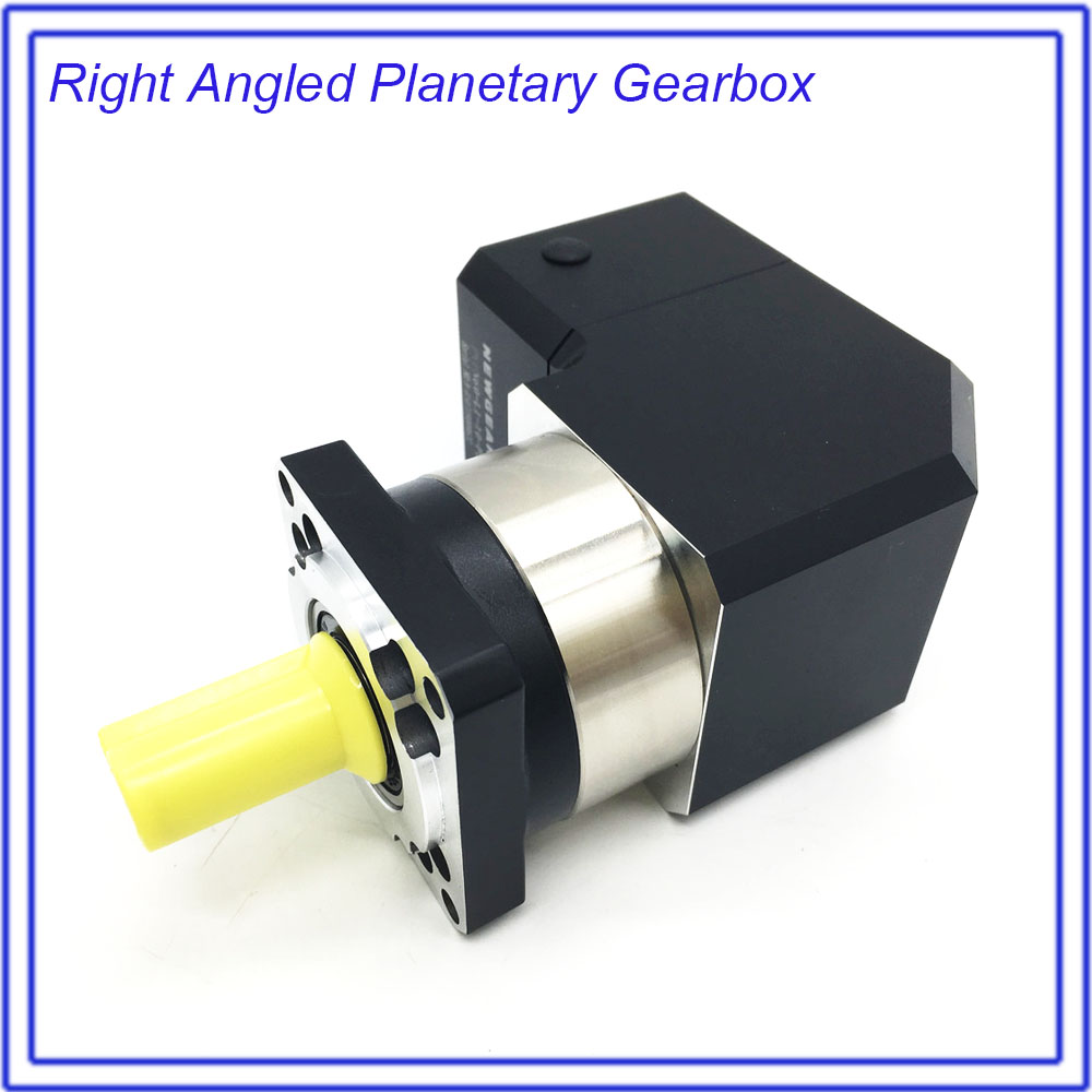 3 :1 Ratio 3 Right Angled Planetary Reducer Gearbox Corner Reducer 19MM Input For 80MM 90MM 600W 750W AC Servo Motor