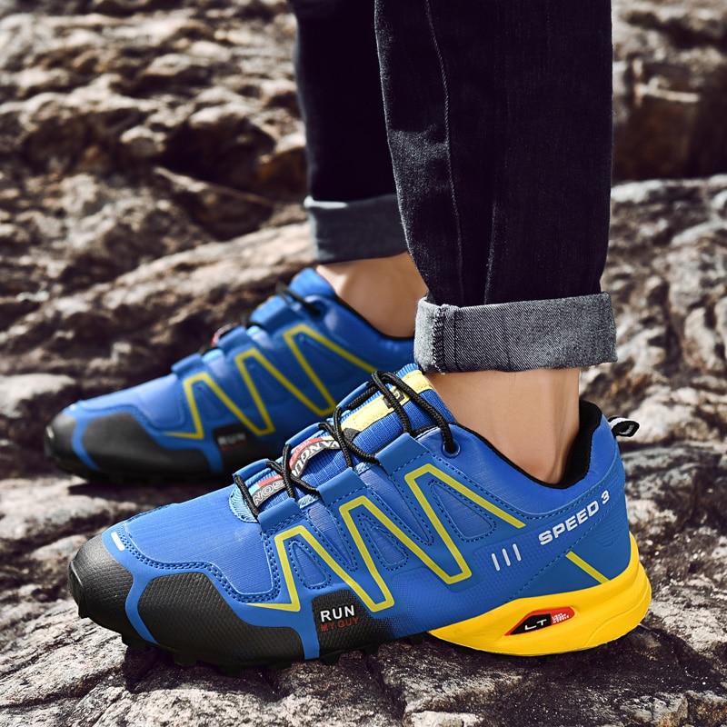 Fashion Men Sneakers Shoes Men Running Shoes Zapatos De Hombre Men Light Breathable Sneakers Sport Shoes Men Jogging Sneakers