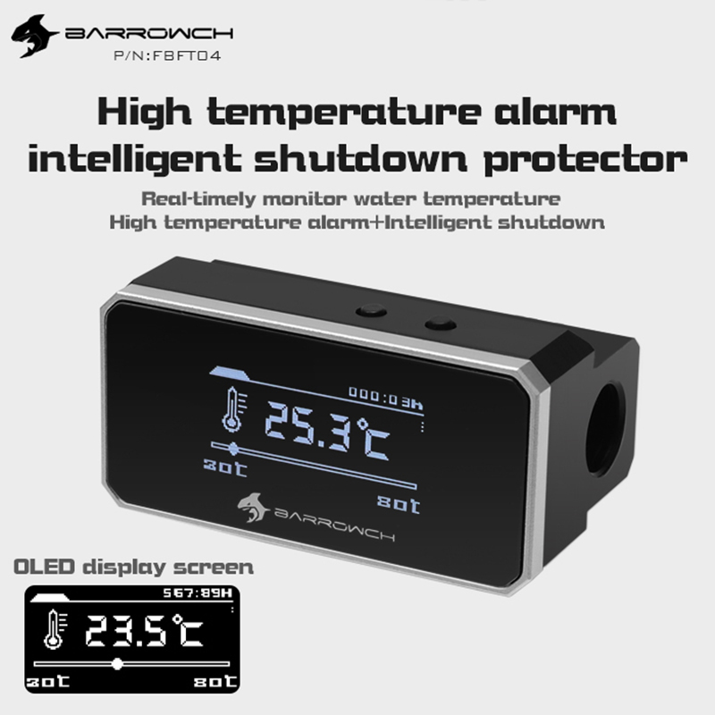 Barrowch FBFT04 Multimode Protector OLED Display With Alarm When Overheat And Intelligent Shutdown