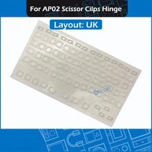 Scissor Keyboard-Repair Macbook A1286 A1297 Layout for Pro A1297/A1286/A1278 White AP02