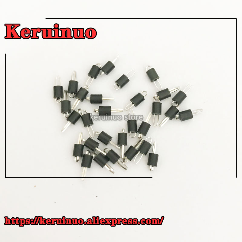 30pieces/lot 5001  KEYSTONE ELECTRONICS PCB MINI TEST POINT BLACK  NEW IN STOCK