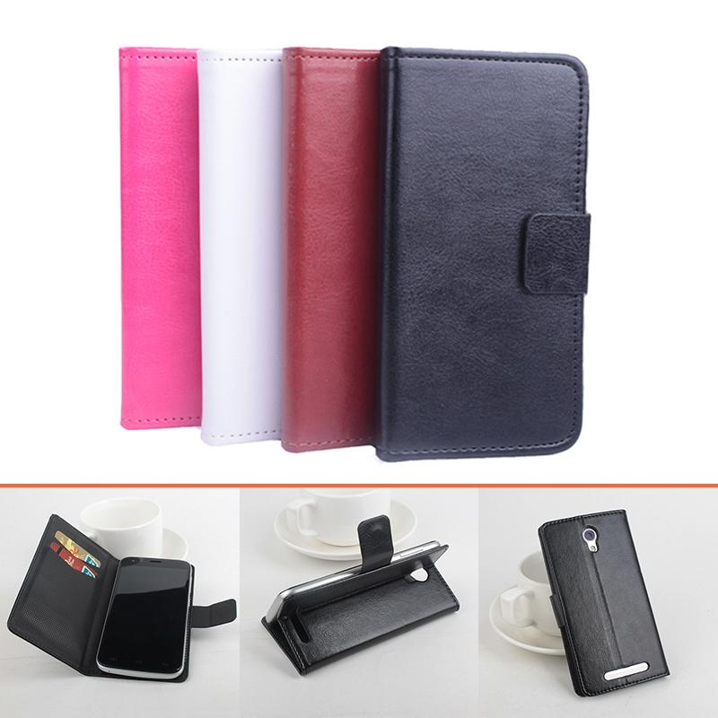 High Quality Pattern Leather flip Case for <font><b>Doogee</b></font> <font><b>Valencia</b></font> <font><b>2</b></font> <font><b>Y100</b></font> <font><b>pro</b></font> Leather Case Flip Cover image