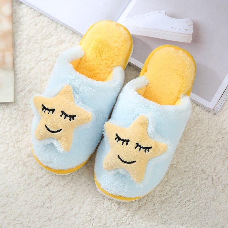 Hc07651b3c37445c1bca22f952088de12v Shofort chinelos de algodão macio feminino, sapatos caseiros para casal quentes de inverno de casa antiderrapante sapatos com calçados